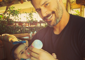 Is Joe Manganiello Holding a Baby the Cutest Thing Ever?