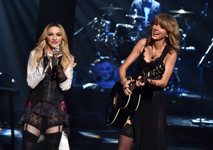 Shocking Performance! Madonna & Taylor Swift Surprise iHeartRadio Fans