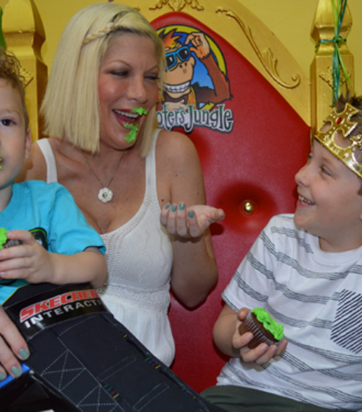 Did Tori Spelling and Mom Candy Call a Truce?