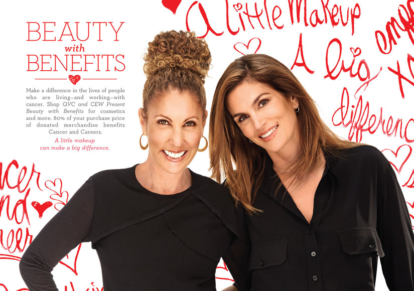 Cindy Crawford Teams with BFF for 'Beauty with Benefits'