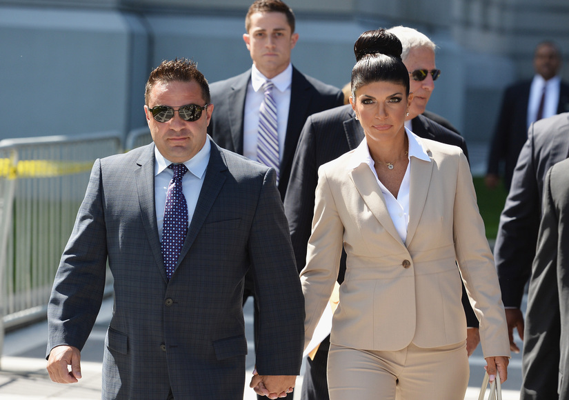 Exclusive! Joe Giudice Describes Teresa's Life in Prison, Her Beauty Regimen and More