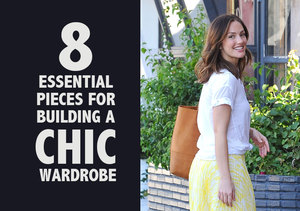 8 Essential Pieces for Building a Chic, Celeb-Inspired Wardrobe
