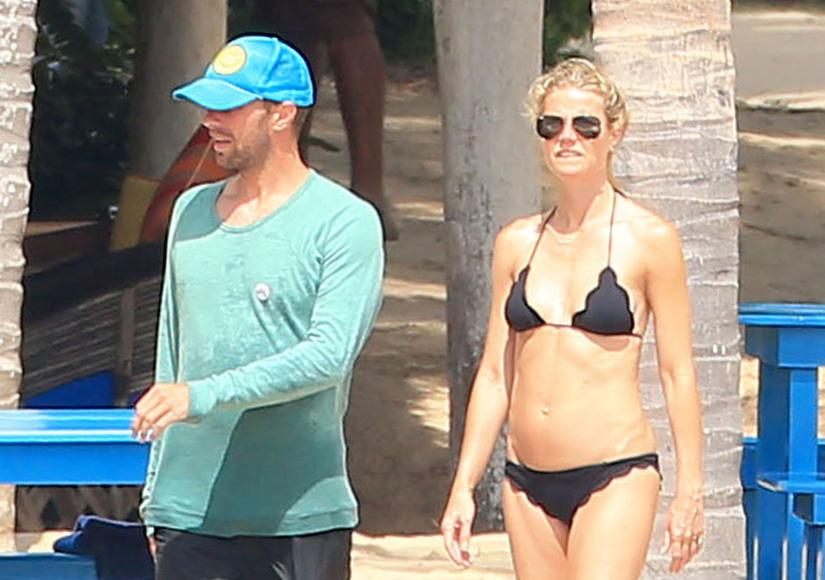 Gwyneth Paltrow Shows Off Bikini Body While on Vacation with Chris Martin