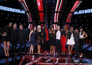Guess Which 'Voice' Contestant Competed in an Xtina Sing-Alike Contest and Won!