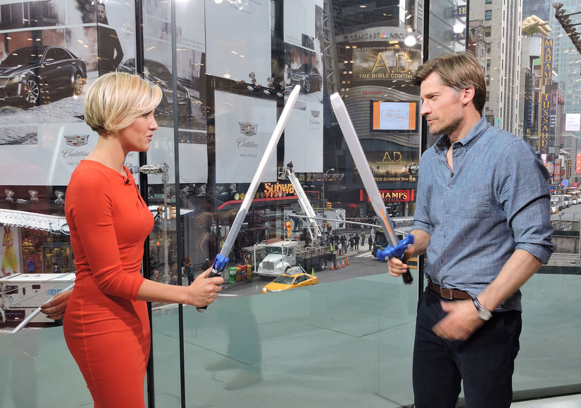 'Game of Thrones' Star Nikolaj Coster-Waldau Talks Season Five, Plus Sword Fights on Our Set