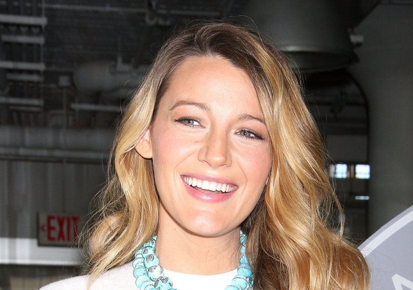 Blake Gushes About Baby James, Plus Talks 'Age of Adaline' in First Sit-Down Since Becoming a Mom