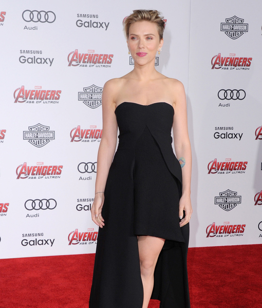 Scarlett Johansson Goes from Superhero to New Mom, and Jokes About…