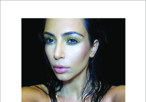 "Sneak Peek at Kim K's ""Selfish"" Book"