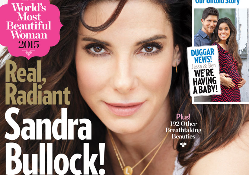Sandra Bullock Tops People's 'World's Most Beautiful' List