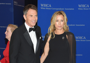 Téa Leoni and Tim Daly Debut as a Couple!