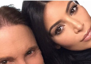 Kim Kardashian Supports Stepdad Bruce Jenner: 'I'm Really Proud of Him'