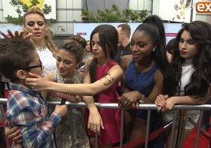 Our 10-Year-Old Correspondent Charms the Ladies at the Radio Disney Music Awards