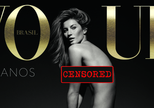 Gisele Bündchen Celebrates 20 Years of Modeling by Posing Completely Naked!