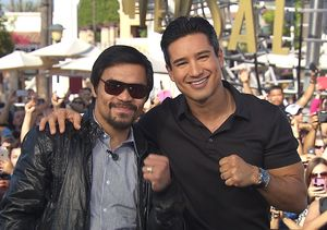 Manny Pacquiao's 'Feeling Good and Ready' for Big Fight Against Mayweather