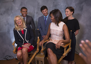 Michelle Obama, Jill Biden Join Forces with NBC's 'The Night Shift' to…