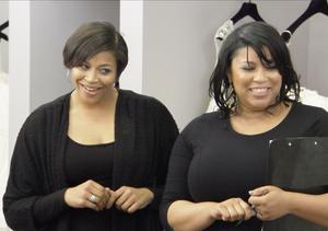Sneak Peek! Fab Sisterly Fun in Store for TLC's 'Curvy Brides'