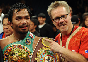 Manny Pacquiao Trainer Freddie Roach Shares Strategy for Winning 'Fight of…