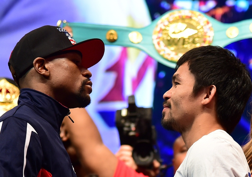 Stars Come Out for Pacquiao vs. Mayweather Fight!
