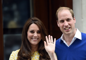 Royal Baby Gets Plenty of Visitors ... But No Name Yet