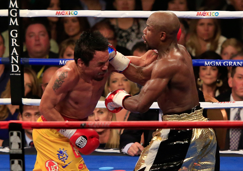 The Fight of the Century! Who Won... Manny or Mayweather?