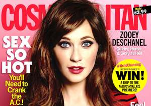 Zooey Deschanel Covers Cosmo, Says She Won't Do 'Body After Baby' Pix