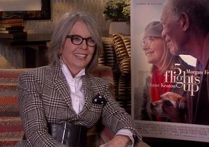 See What Diane Keaton Did When We Asked About Her Long-Lasting Beauty