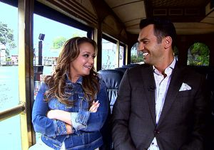 Leah Remini and Tony Dovolani Get VIP Treatment at Universal Studios Hollywood!