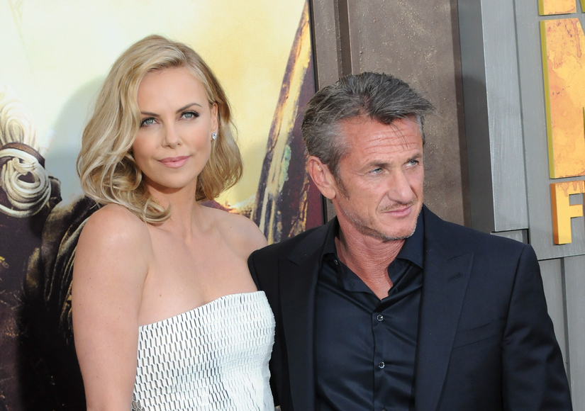 Charlize Theron & Sean Penn Reunite in South Africa… Sort Of