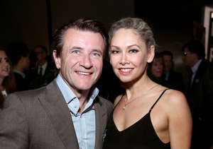 'DWTS' Partners Robert Herjavec and Kym Johnson Caught Kissing!