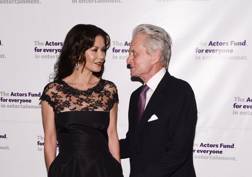 Michael Douglas Gushes Over Catherine Zeta-Jones: 'I Really Lucked Out'