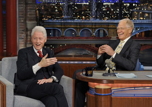 Pres. Bill Clinton Tells Letterman 3 Things Need to Happen Before He Moves Back…