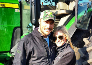 Back on the Farm! Chris Soules Posts Pics of Whitney Bischoff Driving a Tractor