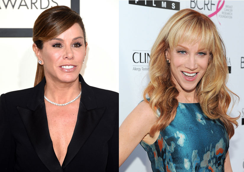Melissa Rivers Slams Former 'Fashion Police' Co-Host Kathy Griffin: 'Don't Crap All Over My Mother'