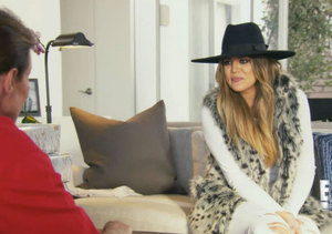 Khloé Kardashian Arrives at Bruce's Home with Gifts for 'Her'