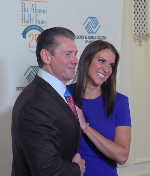 Watch! Vince McMahon, Trey Songz and Others Inducted into Boys & Girls Club…