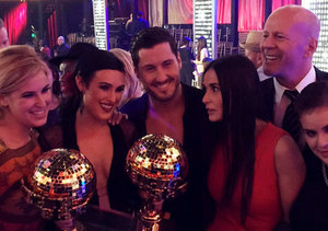 Demi Moore and Willis Family Celebrate Rumer's 'DWTS' Win!