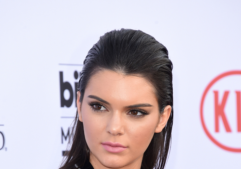 Pic: Kendall Jenner Gets a Friendly Boost in Cannes!