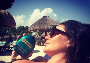 Pics! JWoww Vacays in Mexico with Fiancé and Daughter
