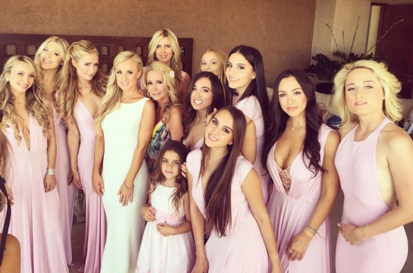 Touching Video: Kim Richards Attends Her Daughter's Wedding!