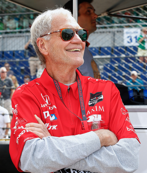 David Letterman Spends First Weekend of Retirement at Indy 500: 'It's the…