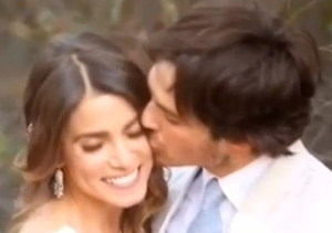 Extra Scoop: See Ian Somerhalder and Nikki Reed's Romantic Wedding Video
