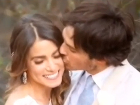 Extra scoop see ian somerhalder and nikki reeds romantic wedding extra scoop see ian somerhalder and nikki reeds romantic wedding video extratv junglespirit Images