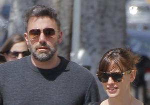 Ben Affleck & Jennifer Garner Go to Lunch