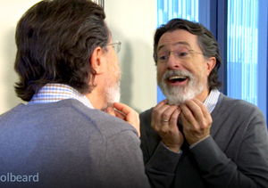 'The Colbeard': Watch Stephen Colbert's First 'Late Show' Promo