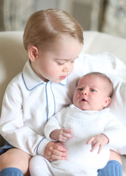 By George: New Official Princess Charlotte Pics, Taken by Kate!