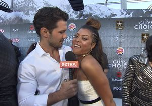 Taraji P. Henson's Flirtfest at Spike TV's Guys Choice Awards: We Would…