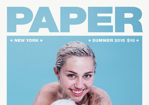 Miley Cyrus Flaunts Cleavage in Bizarre Pig-stagram Pic