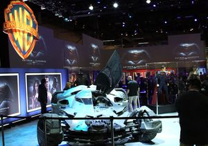 Warner Bros. Unveils Batmobile from 'Batman v Superman: Dawn of Justice'