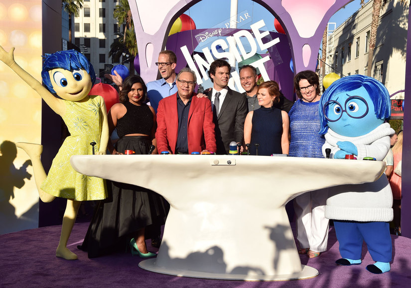'Extra' Goes Inside Disney/Pixar's 'Inside Out' Hollywood Premiere!