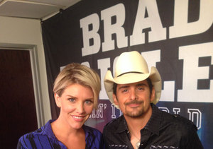 Country Superstar Brad Paisley Reveals He's Nervous About Opening for the…